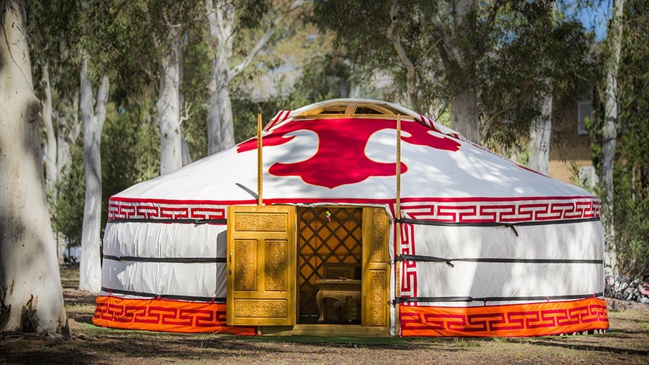Mongolian president's gift illustrates country's close connection with The Australian National University