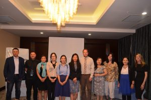 Current and former members of the ANU's Mongolia Institute