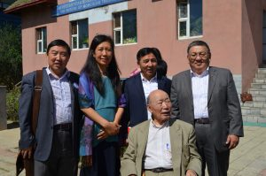 Group photo with Director of the Museum of Mongolian Traditional Medicine, Prof. Tserentsodnom.