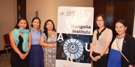 Mongolia Institute postgrads